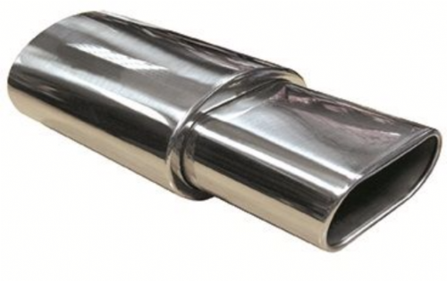 "Urban X Muffler ""Flat"" Oval Box with Square End"